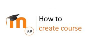 Moodle course creation
